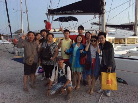 希腊华人导游张镝:爱琴海上遇到爱(图)-中国侨