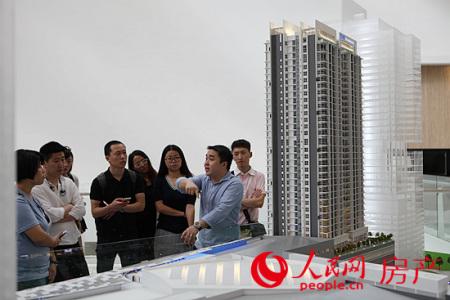 马来西亚以相对中国一线城市较低的房价,成为中国人海外投资、置业的新宠。人民网 伍振国/摄