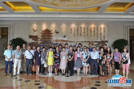 """在武汉市民之家拍摄的""""全家福"""""""