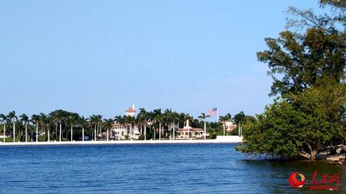 位于佛罗里达州棕榈滩的海湖庄园(摄影 殷淼)