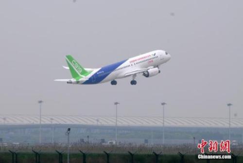 国际媒体热评c919首飞:中国飞机制造业的关键时刻-侨