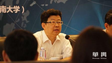 国务院侨办宣传司许玉明司长。