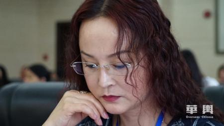 俄罗斯《龙报》李双杰社长。