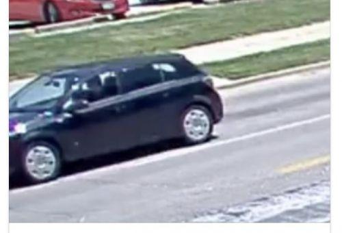 FBI发布公告指出,已经找到涉嫌载走章莹颖的黑色土星(Saturn Astra)车辆。(美国侨报网)