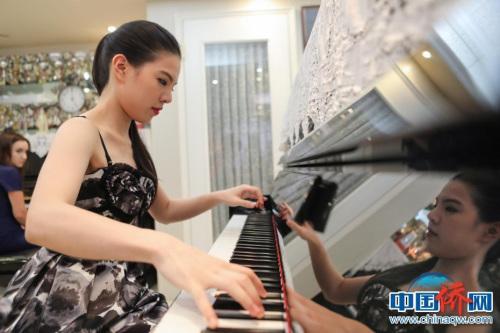 80后钢琴家黄子芳