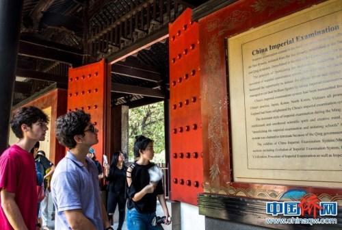 参观上海中国科举博物馆