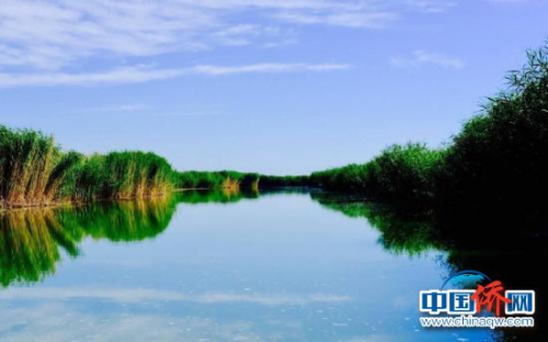中国新疆博斯腾湖