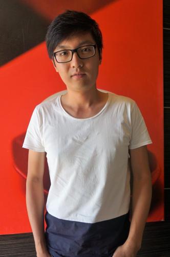 南加大电影学院硕士毕业生周昭瑜毕业作品入围今年学生奥斯卡实验电影短片单元。(美国《世界日报》/马云 摄)