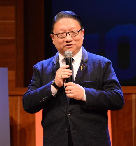 美国鹰龙传媒董事长苏彦韬(图片由受访者提供)