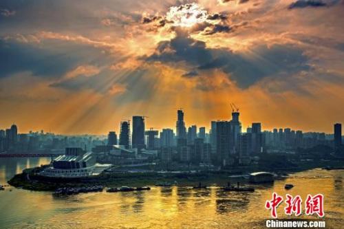 重庆市景。两江新区党工委宣传部供图