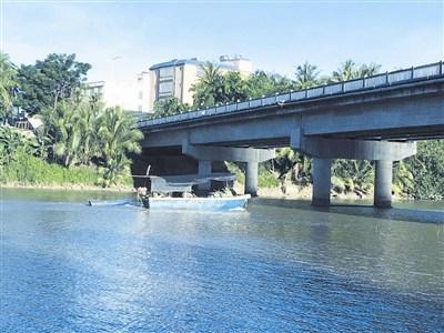 奔流入海的藤桥东河