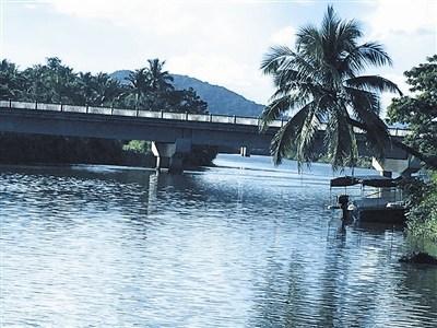通桥而过的藤桥西河