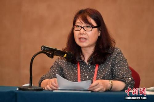 9月10日,《新西兰信报》社长兼总编辑王浩发表演讲。<a target='_blank' href='http://www.chinanews.com/'>中新社</a>记者 吕明 摄