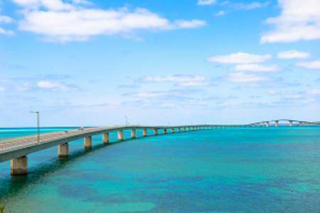 宫古岛的蓝让人陶醉。