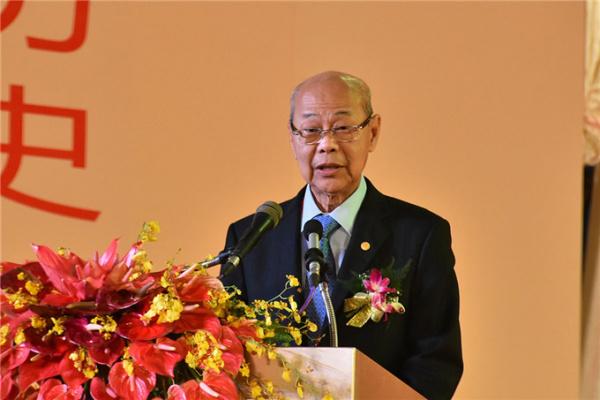 世界华商大会召集人组织代表、泰国中华总商会陈振治主席致辞