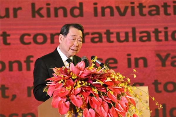 泰国正大集团谢国民主席做主旨演讲