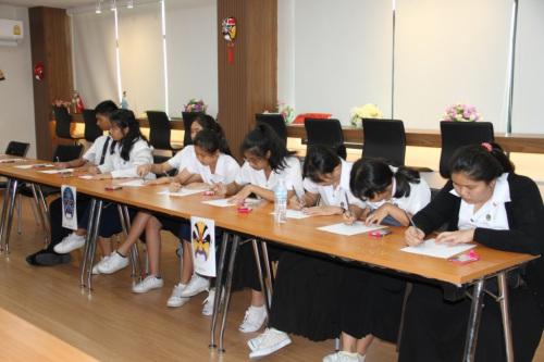 学生笔下的中国风。
