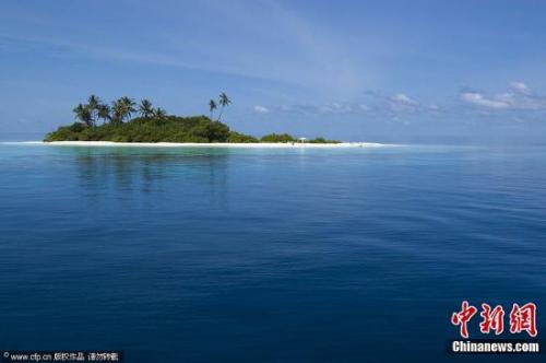 马尔代夫阿里环礁。