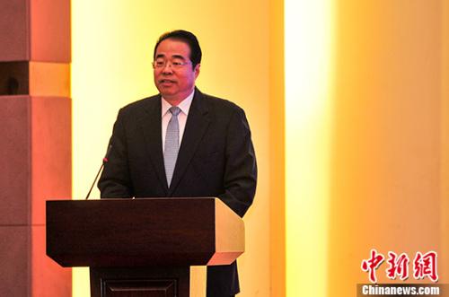 中国国务院侨办党组书记许又声发言