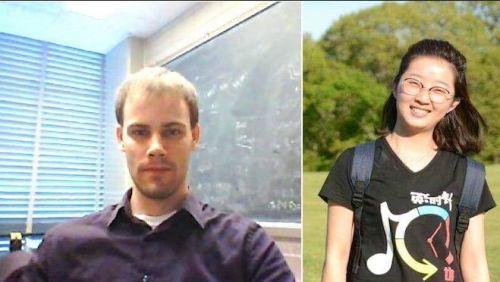 嫌犯克里斯滕森(左)新罪名是绑架致死,或被判死刑。(美国《侨报》)