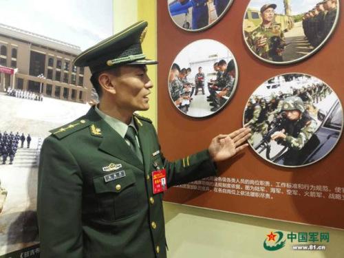 展览现场 解放军报记者 吴敏 摄