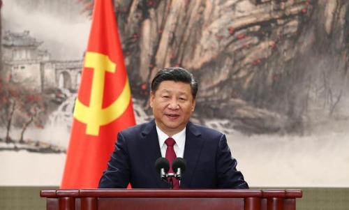 这是习近平总书记发表讲话.新华社记者 谢环驰 摄 图片来源:新华网