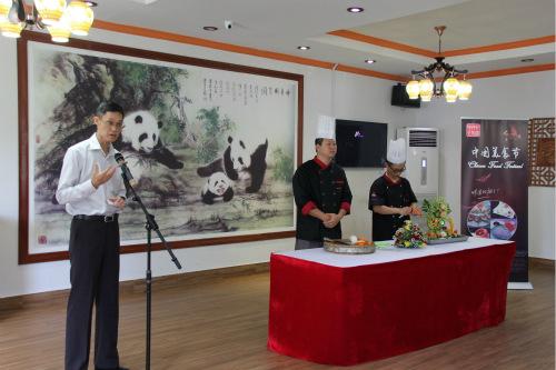 中国驻坦使馆文化参赞兼中国文化中心主任高炜致欢迎辞。