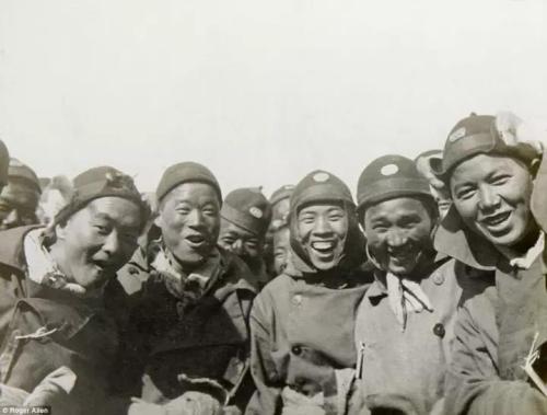 一战中国劳工资料图
