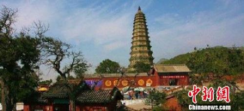 广胜寺塔是全国19座释迦牟尼真身舍利塔之一。 资料图