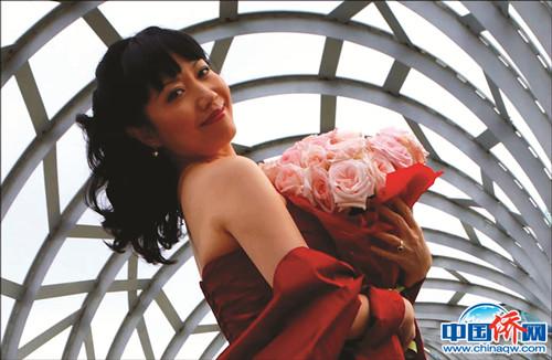 澳大利亚华裔著名歌唱家俞淑琴。
