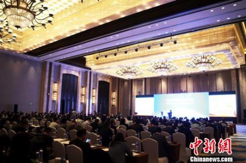 27日,由国务院侨办主办、江西省外侨办承办的第八届海外华侨华人专业协会会长联席会在江西南昌举行。 刘占昆 摄