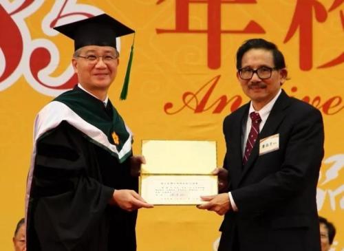 右一为廖国男教授。