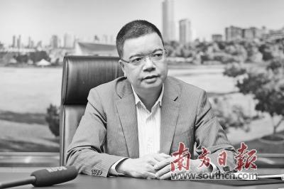 珠海恒隆集团副总裁苏枝谋。