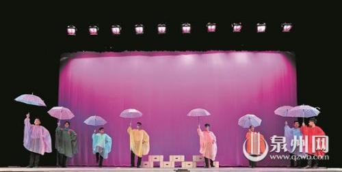 约旦失孤儿童艺术团表演《两只鸭子和乌龟》 (张九强 摄)