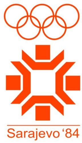 1984年第14届萨拉热窝冬奥会会徽