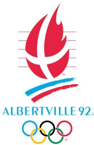 1992年第16届阿尔贝维尔冬奥会会徽