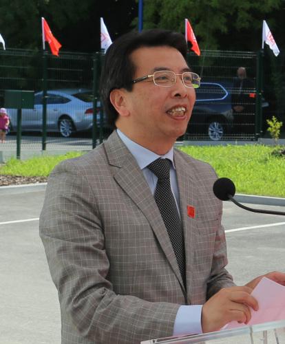 孙玉明 (《欧洲时报》/黄冠杰 摄)