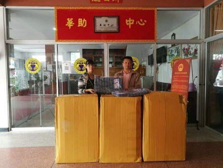 清迈华助中心领导与医院代表合影