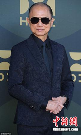 著名华裔设计师周仰杰。(图片来源:视觉中国)