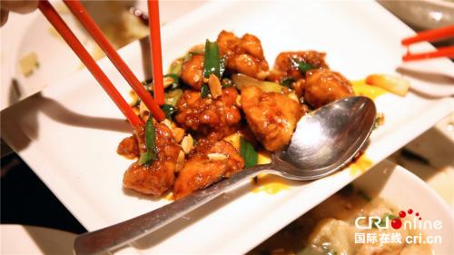 餐馆的中国菜。