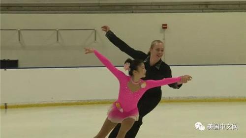 来自中西部地区的Nadia Wang & Jaden Schwab获得Juvenile级别双人滑亚军,两个搭档组双人的时间仅有数月,优异成绩实属难得。