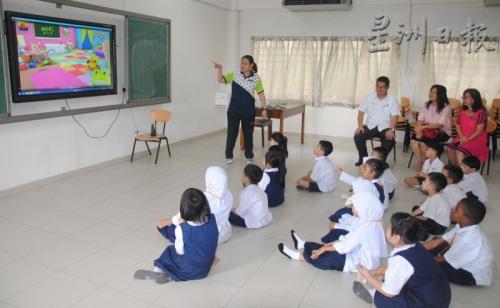 立人小学今年有21名一年级新生。 (马来西亚《星洲日报》)