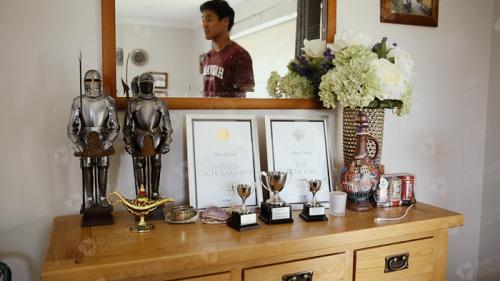张一彬获得的奖项。