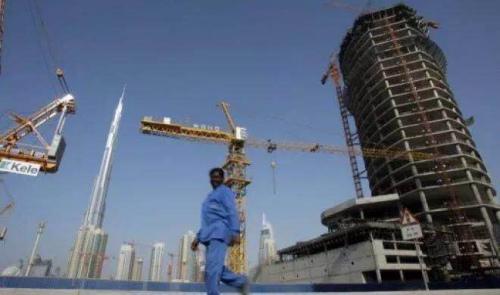 烂尾楼是迪拜金融危机下的常态。