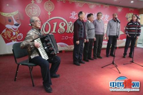 印尼归侨联谊会男声小合唱。马秀秀 摄