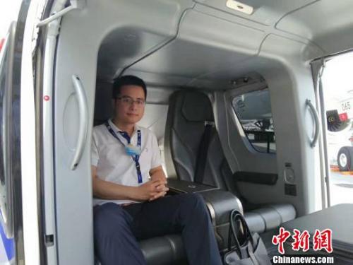 荷兰华人侨商、福建隆祥通用航空有限公司执行总裁李晟 受访者供图
