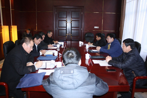 调研组在邯郸市召开工作座谈会