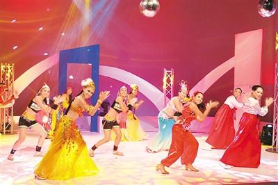 毛里求斯中心舞蹈队表演   毛里求斯中心供图