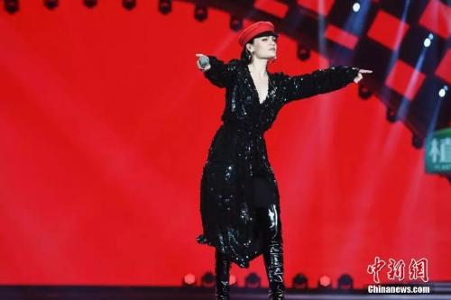 知名歌手Jessie J登台引燃全场热情
