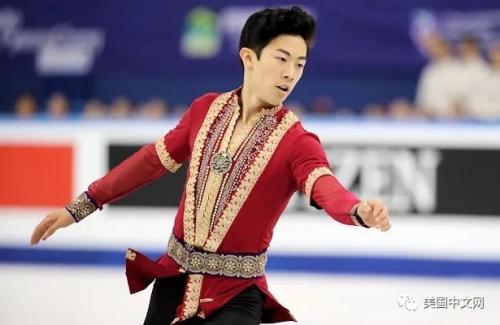 资料图:陈巍在2017年美国锦标赛上 。(美国中文网)